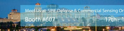 Join us at booth #607, SPIE DCS Orlando 2018
