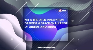 NIT & the Open Innovation Defense & Space challenge of AIRBUS and MBDA