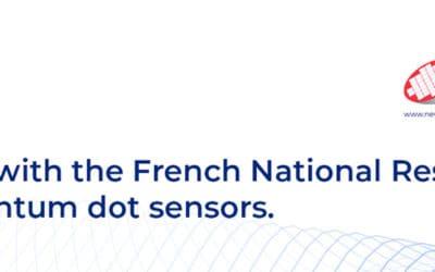 Partnership on SWIR quantum dot sensors project