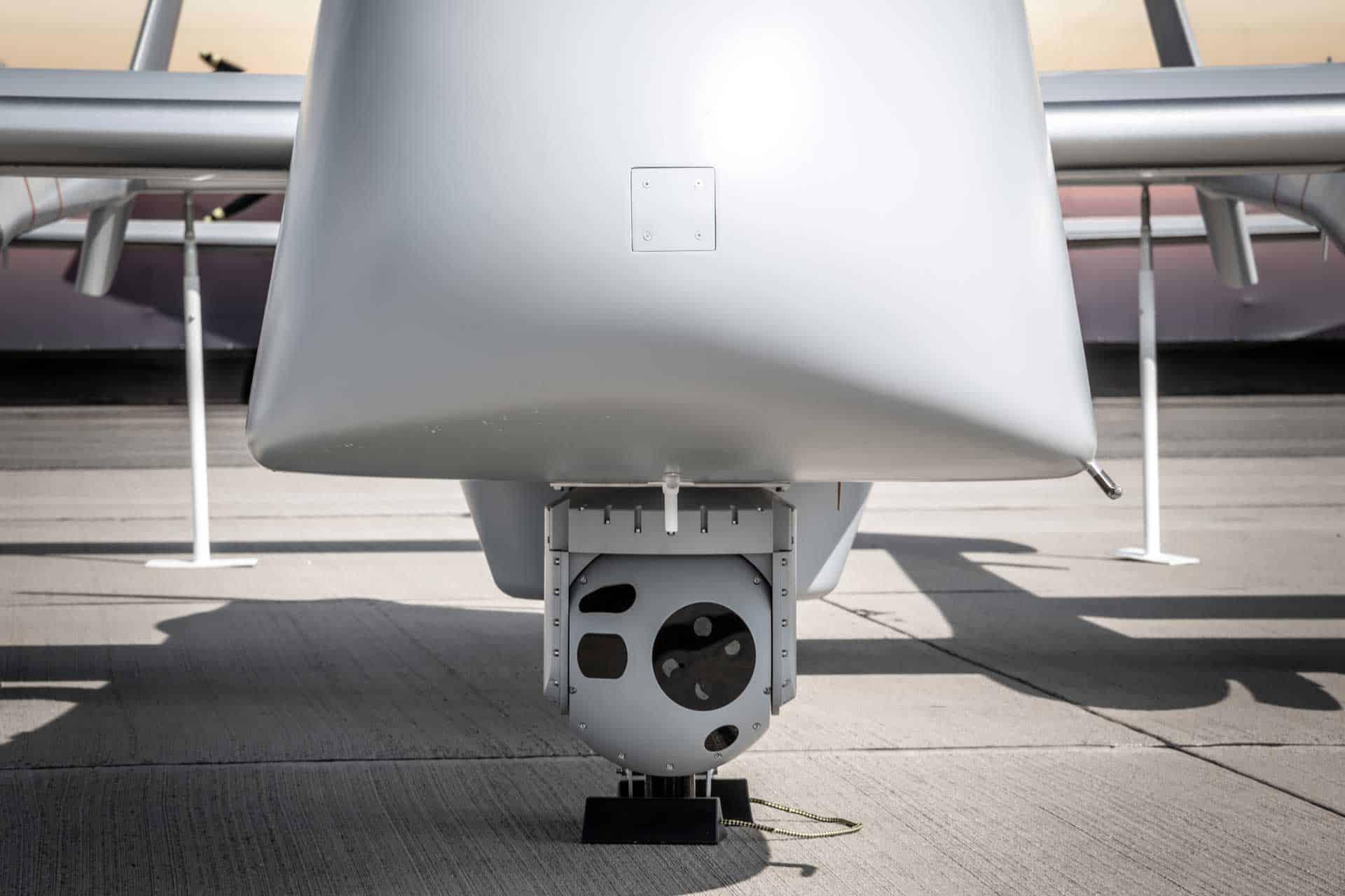 UAV gimbal with SWIR sensor