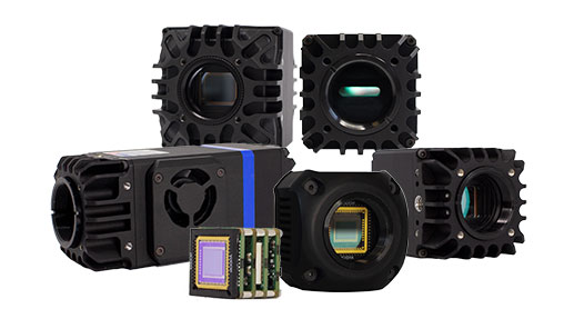 NIT SWIR cameras and modules